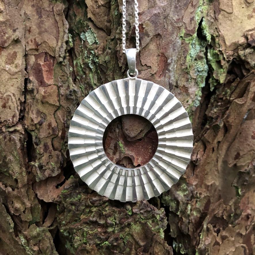 SI Simbolo Chain Pendant Silver