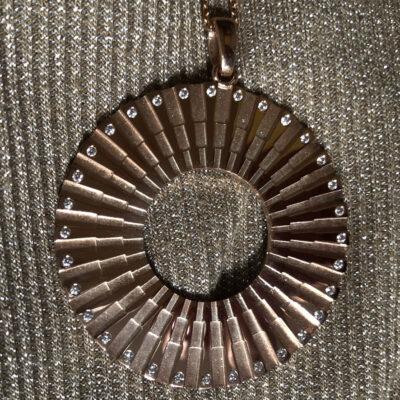 Transformation Jewel SI Simbolo Rose Gold 32 Diamonds