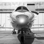 YesPower privé-jet zwart/wit