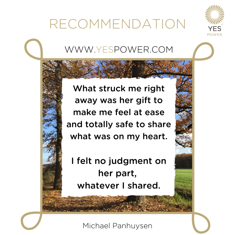 #recommendation YesPower #businessmedium Michael Panhuysen eng