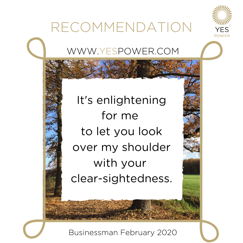 #recommendation YesPower #businessmedium clear-sightedness