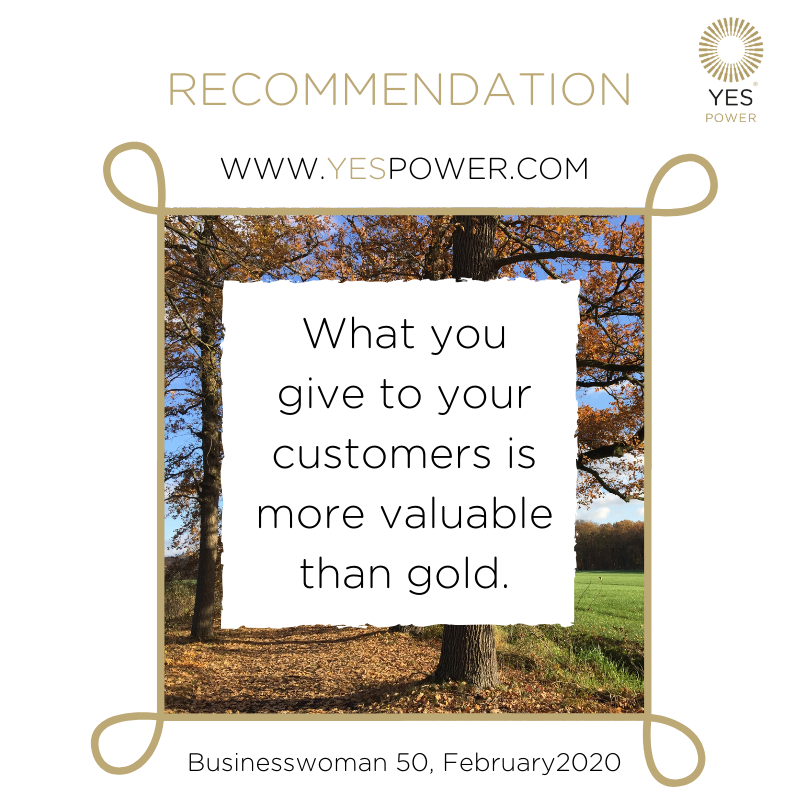 #recommendation more valuable than gold